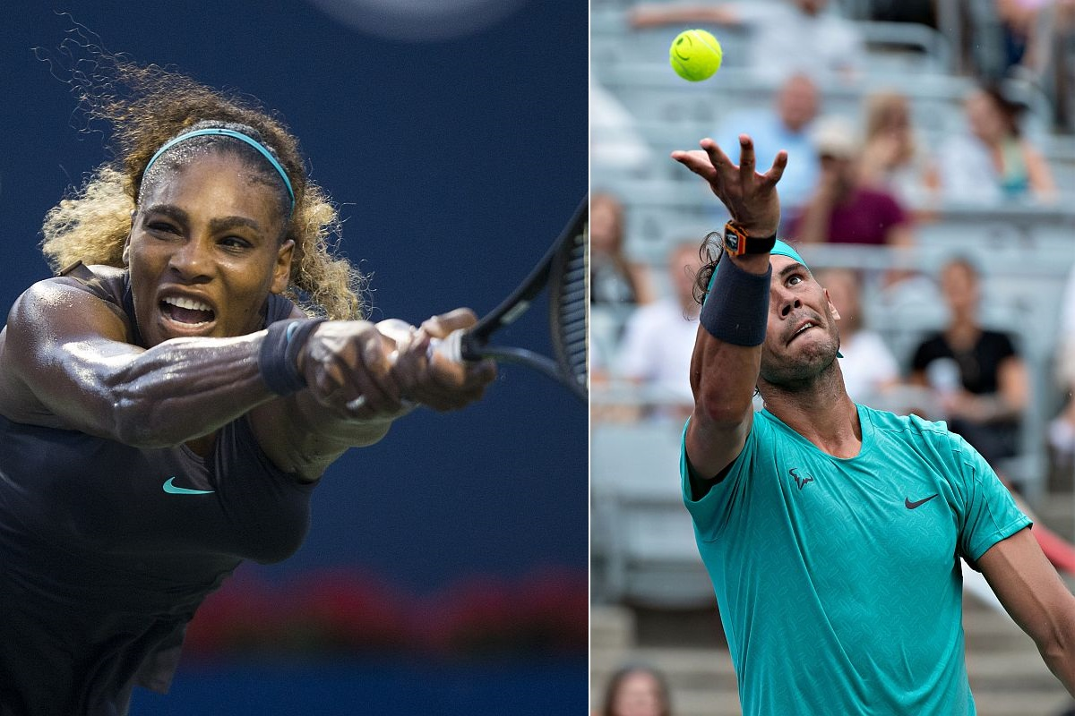 Serena Williams, Rafael Nadal, Rogers Cup,