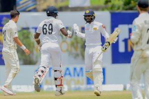 Sri Lanka beat New Zealand by 6 wickets in 1st Test