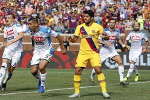 Barcelona confirm Suarez suffered leg injury in La Liga opener