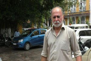 Tejpal's rape trial delayed as complainant tests Covid positive
