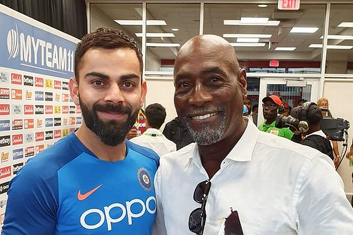 Vivian Richards, Virat Kohli,