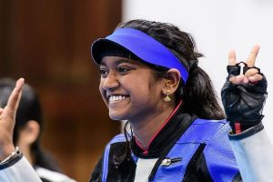 ISSF World Cup: Elavenil Valarivan bags gold in 10m Air Rifle event