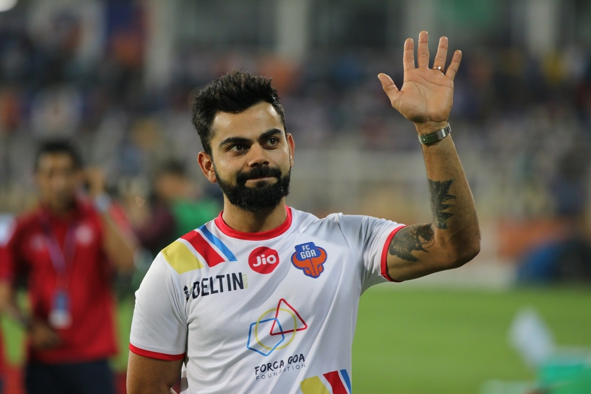 Virat Kohli, FC Goa, Football, Indian Super League