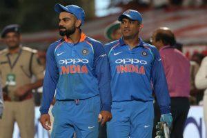 Virat Kohli equals MS Dhoni's record, surpasses Sourav Ganguly's tally