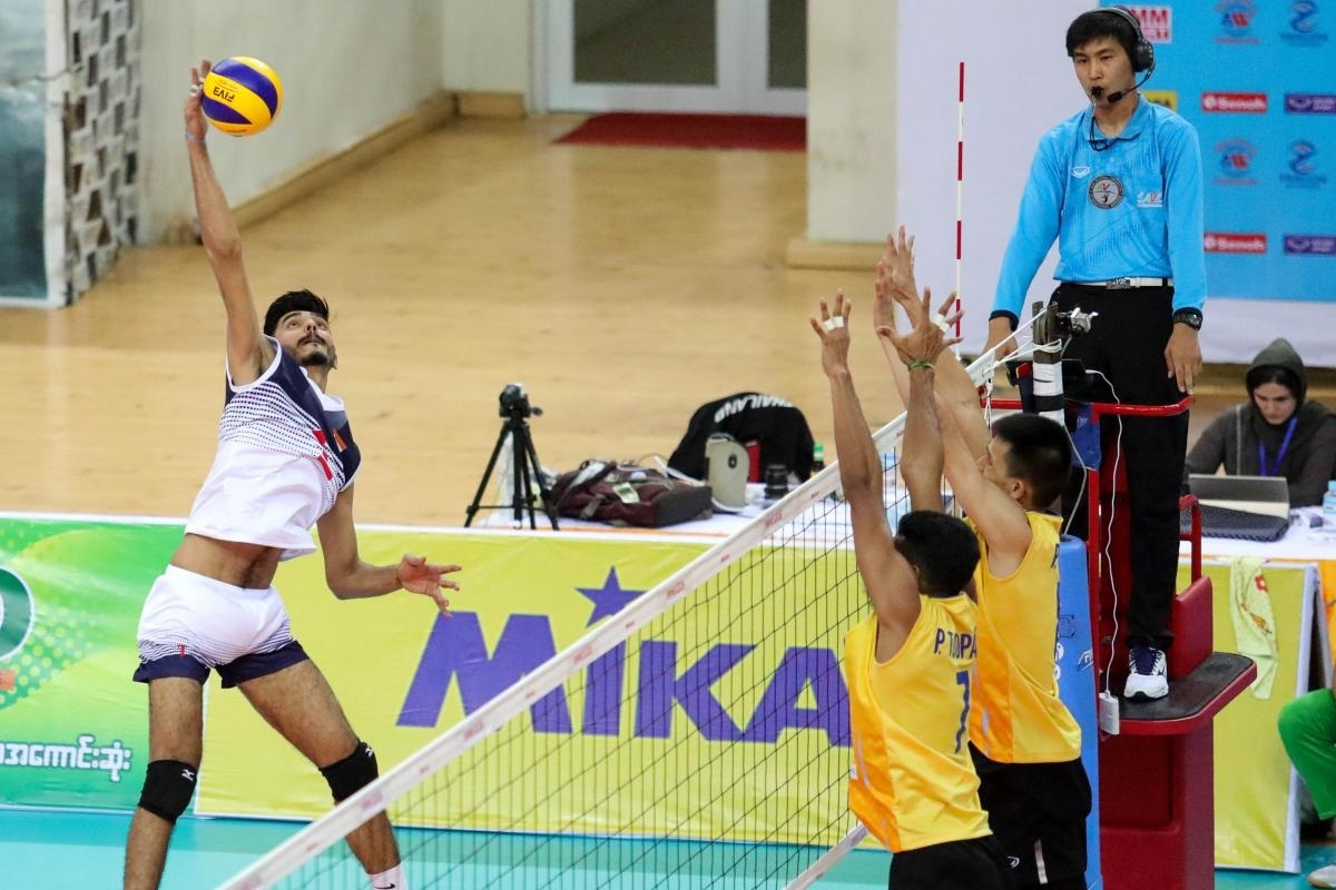 Volleyball Championships, India, Myanmar, Thailand