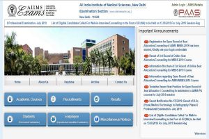 AIIMS recruitment 2019: Applications invited for Nursing Officer posts, apply till September 15 at aiimsexams.org