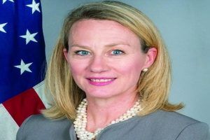 US diplomat Alice Wells arrives in Pakistan