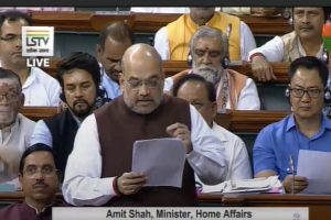 Abrogation of Article 370: 'Not a political move', Amit Shah hits back at Cong, asserts 'J-K includes PoK'
