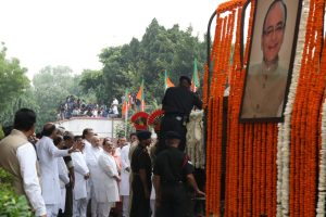 India bids farewell to ex FM; Arun Jaitley cremated with state honours