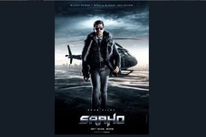 Second character poster from Saaho featuring Arun Vijay unveiled