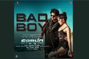 Saaho: Bad Boy Song | Prabhas, Jacqueline Fernandez | Badshah, Neeti Mohan