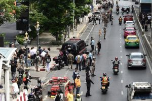 2 injured in several explosions in Bangkok as city hosts ASEAN foreign ministers meet