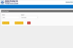 MAKAUT results 2019 declared for various courses at makautexam.net   Direct link here