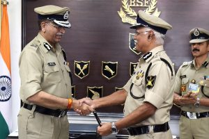 Vivek Kumar Johri takes charge as new BSF DG