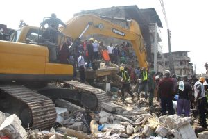 5 killed after two residential buildings collapse in Nigeria