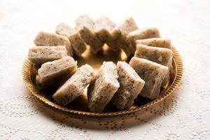 How to prepare Coconut Burfi at home for Janmashtami fasting?