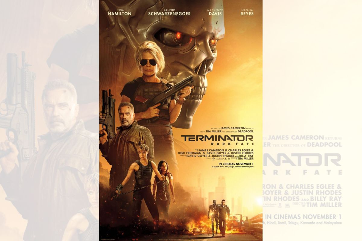 'Terminator: Dark Fate' to release in India in November