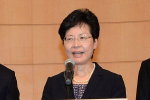 Hong Kong protests: City leader Carrie Lam willing to create platform for dialogue