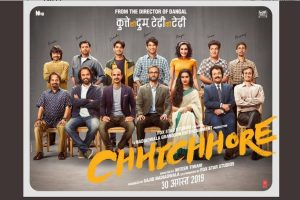 Shraddha Kapoor, Sushant Singh starrer Chhichhore trailer to release on Friendship Day