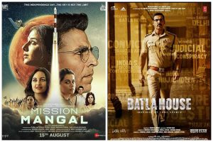 Mission Mangal becomes Akshay Kumar's highest opening film; Batla House fails