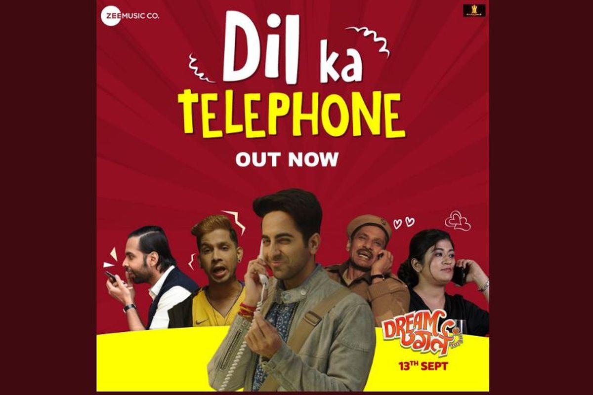 Dil Ka Telephone, Dream Girl, Ayushmann Khurrana, Nushrat Bharucha, Ekta Kapoor, Balaji Motion Pictures, Annu Kapoor, Raaj Shaandilyaa, Jonita Gandhi, Nakash Aziz, Meet Bros
