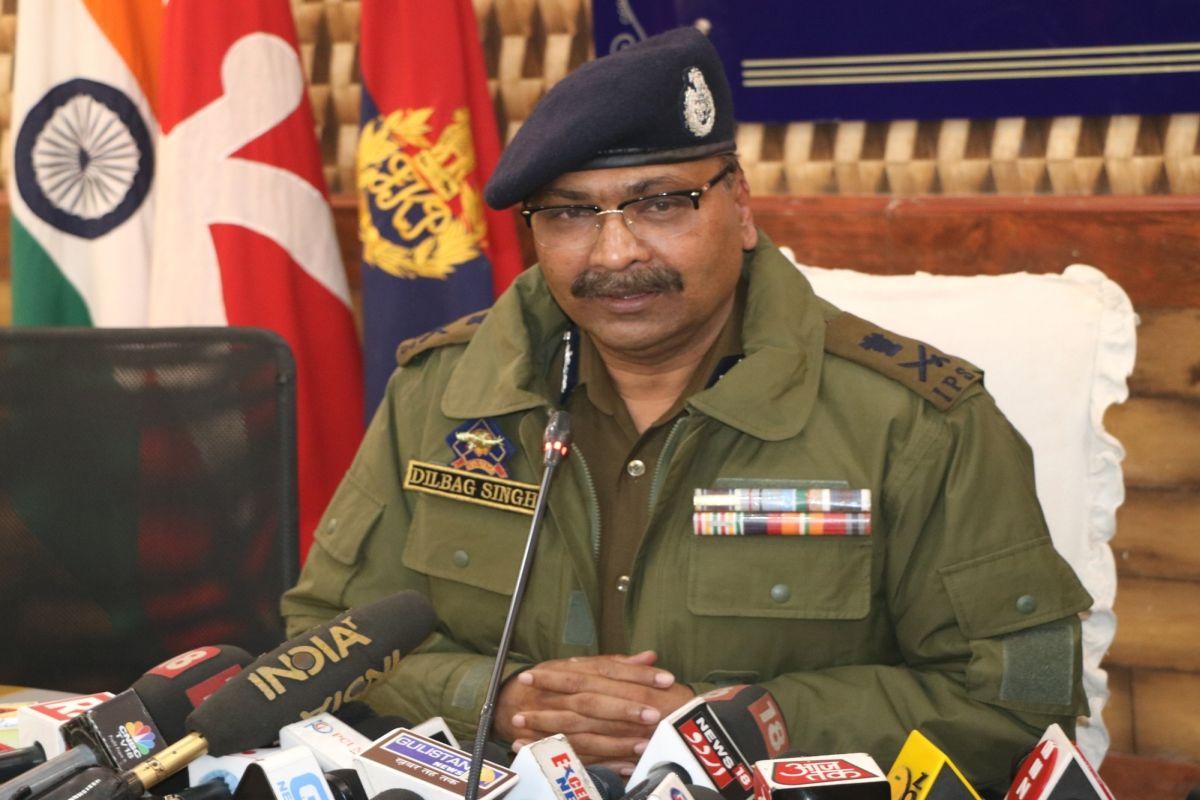 Dilbag Singh, Jammu and Kashmir Police (JKP)