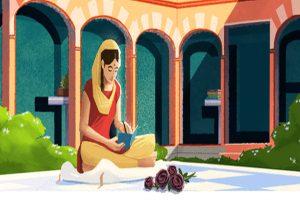 Google doodle celebrates 100th birth anniversary of Punjabi poet Amrita Pritam