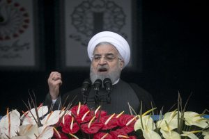 US must lift all sanctions before talks: Rouhani