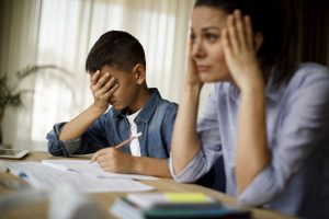 Parenting stress weakens mother-child communication