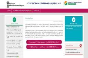 JEE Main January exam 2020: Online registration process to start from September 2 at jeemain.nic.in, details here
