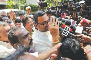 Madras HC grants interim stay on proceedings against Karti Chidambaram in tax evasion case