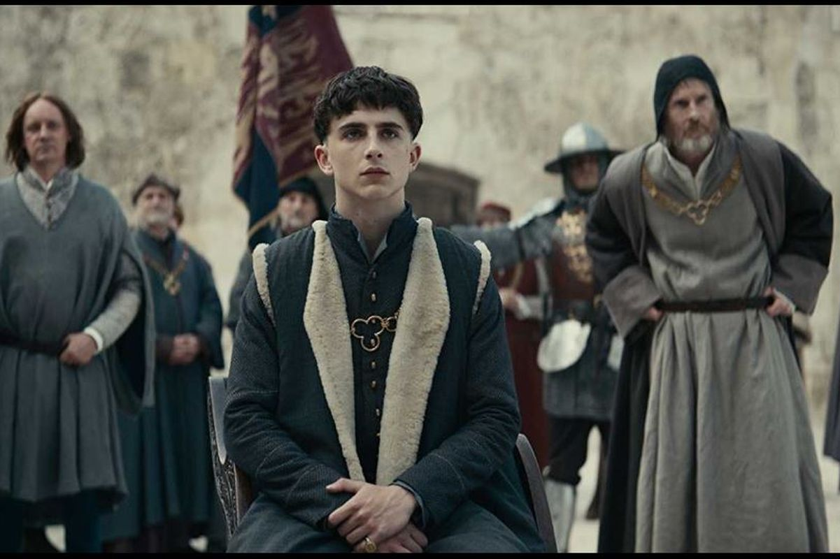 The King, official trailer, Netflix, Timothee Chalamet, David Michôd, Shakespeare,Henriad, Venice Film Festival, Joel Edgerton, Robert Pattinson, Sean Harris, Lily-Rose Depp,Thomasin McKenzie, War Machine, Catch 22