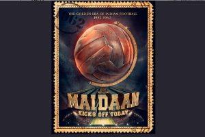 Ajay Devgn's Maidaan on  'Golden Period of Indian Football' begins filming