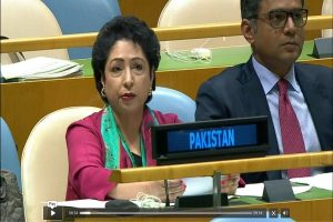 Voice of Kashmiri people heard at UN: Maleeha Lodhi