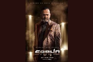 Mahesh Manjrekar's Saaho character poster out