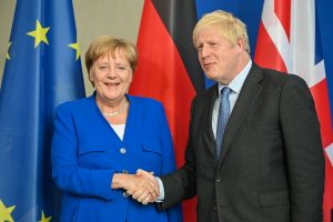 Brexit: German chancellor Angela Merkel gives UK PM 30-day deadline to avoid no-deal