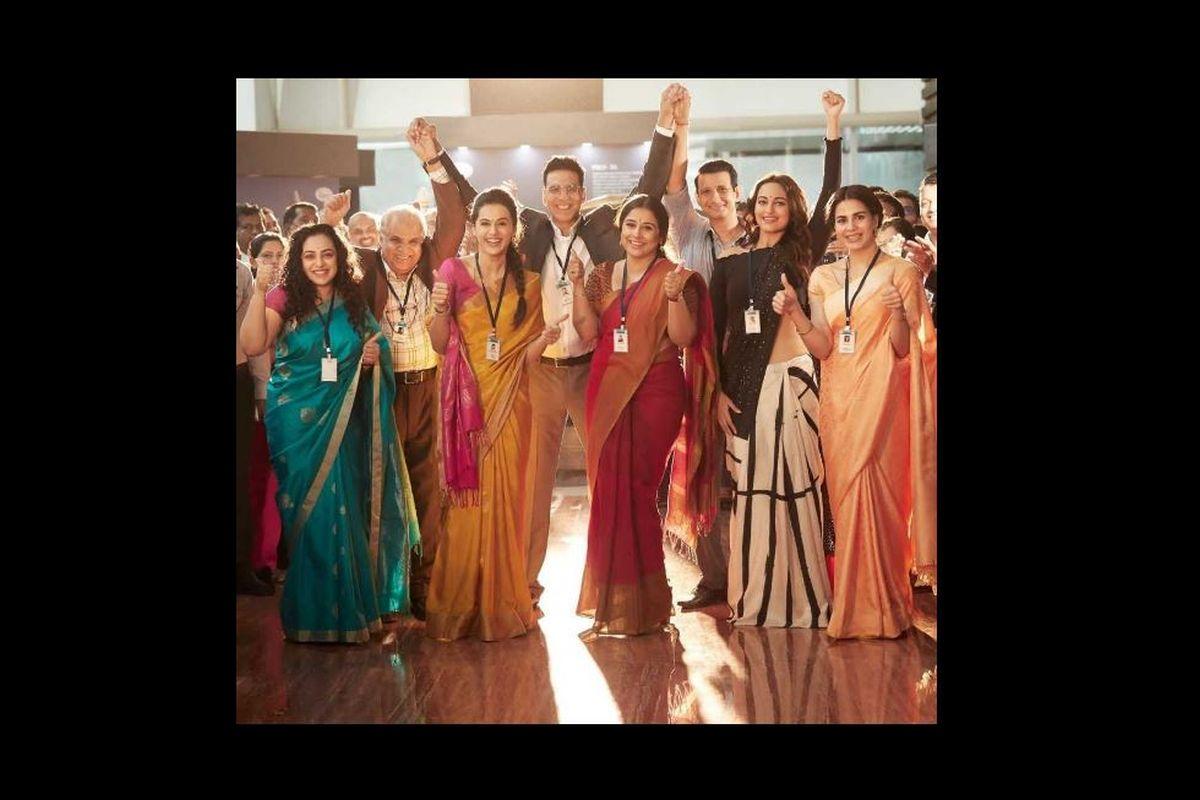 Mission Mangal, Mission Mangal Review, Jagan Shakti, Vidya Balan, Akshay Kumar, Taapsee Pannu, Kriti Kulhari, Sharman Joshi, Mangalyaan, MOM, ISRO
