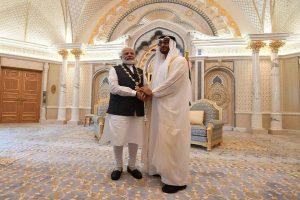 PM Modi conferred UAE's highest civilian honour, launches RuPay card