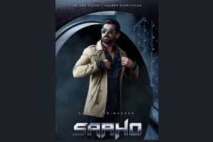 1st character poster featuring Neil Nitin Mukesh from Saaho out