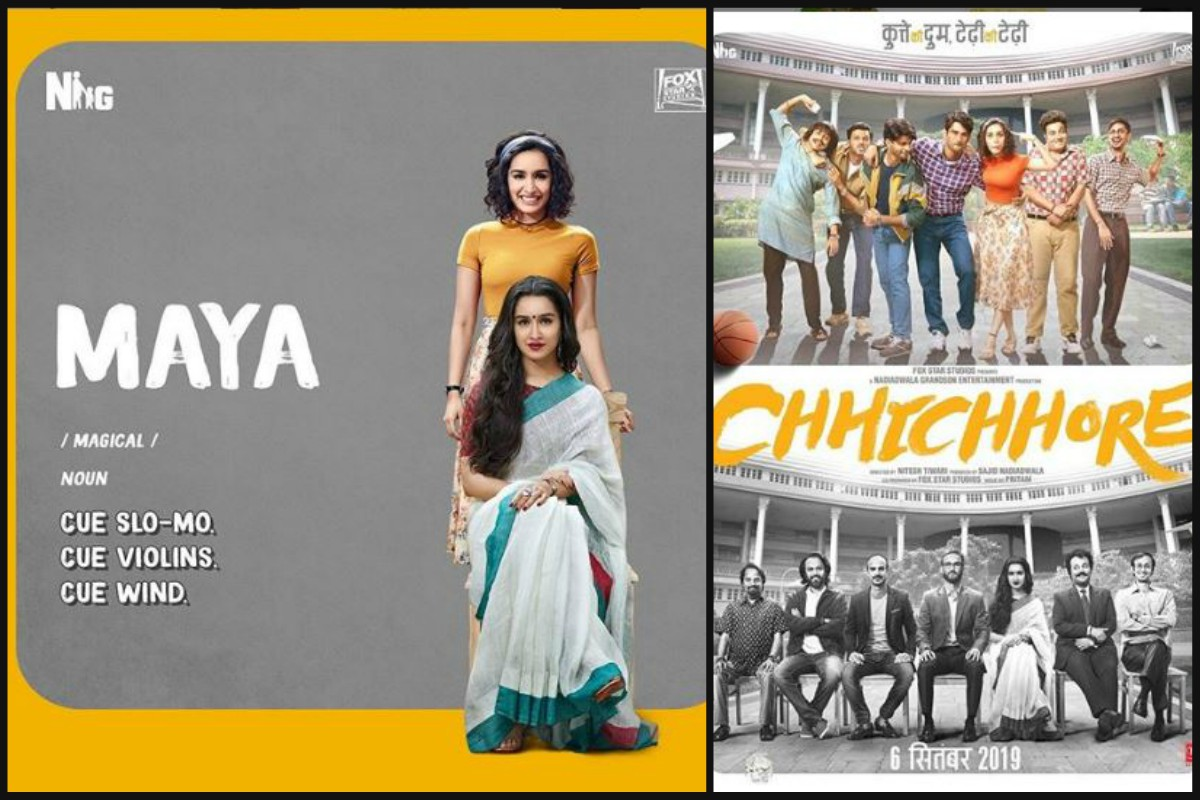 Chhichhore, Nitesh Tiwari, Sushant Singh Rajput, Shraddha Kapoor, Fox star studios, Sajid Nadiadwala, Varun Sharma, Saaho, Prabhas, Tahir Raj Bhasin