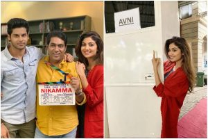 Shilpa Shetty begins shooting for Nikamma