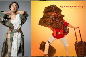 Sara Ali Khan share first look of Coolie No 1 featuring Varun Dhawan
