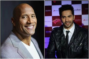 You are the best: Dwayne Johnson to Varun Dhawan