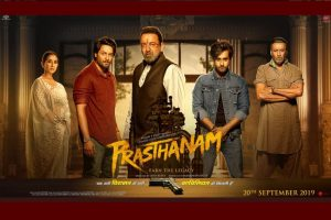 Sanjay Dutt starrer Prasthanam first look poster out