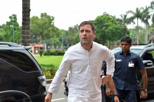 Rahul Gandhi, oppn leaders to visit Kashmir today; govt asks them to stay away