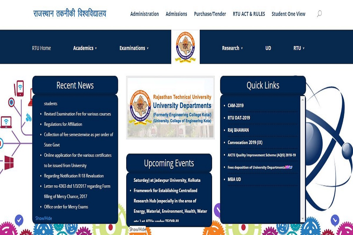 RTU results 2019 for various courses declared at rtu.ac.in | Check now