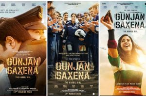 First look posters of Jahnvi Kapoor starrer Gunjan Saxena out