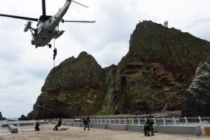 S.Korea's military launches maritime defense drills in East Sea after ending GSOMIA with Japan
