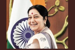 Celebs offer condolences to Sushma Swaraj on Twitter