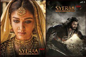 Chiranjeevi,Nayanthara character posters from Sye Raa Narasimha Reddy out